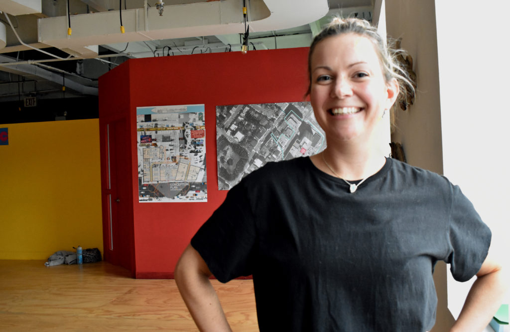 Laura-Beth Power is the outreach coordinator for the neighbourhood for dance works. Power trains all the zombies how to dance and organizes the annual flash mobs around St. John's.