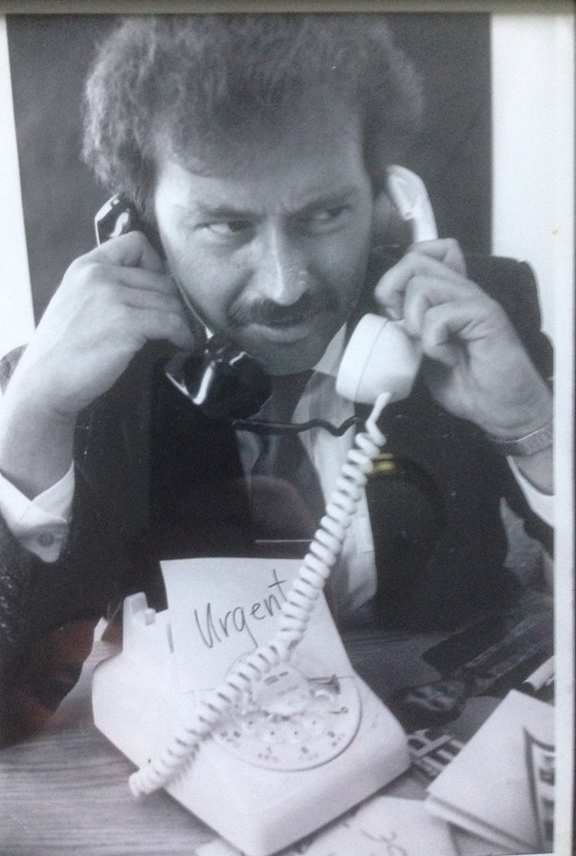 Geoff Meeker opened up his own magazine about nightlife in St. John's and when that folded, he worked for the Herald. In 1987 he began working for the Sunday Express. Submitted Photo