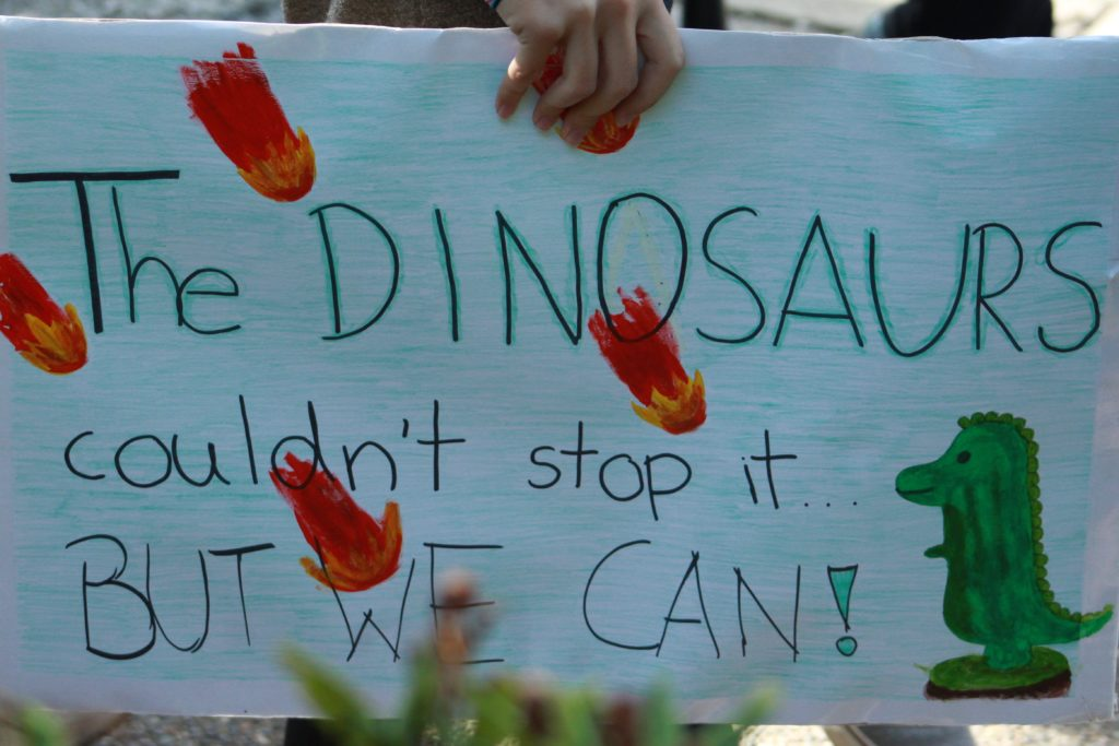 """""""The dinosaurs couldn't stop it...but we can!"""""""
