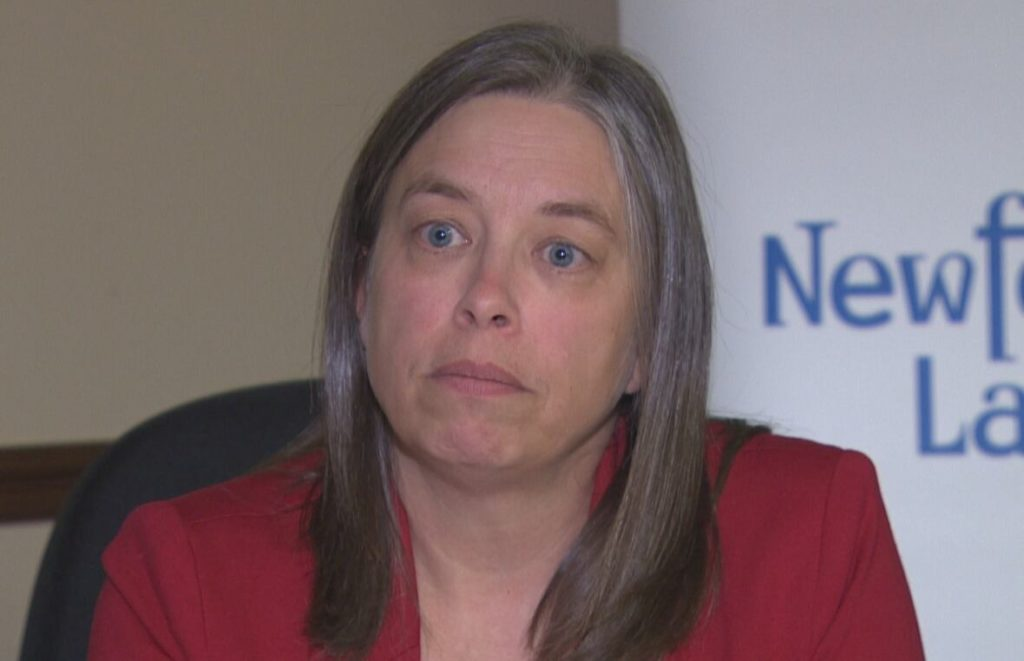 Dr. Janice Fitzgerald, Chief Medical Officer of Health for Newfoundland and Labrador