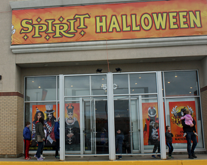 COVID-19 has not dampened the spirits of Halloween enthusiasts lined up at Spirit of Halloween in St. John's. But some people say they are going to restrict their activities to family bubbles.