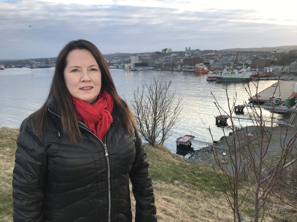Chris O'Neill-Yates is CBC NL's national reporter for online, TV and radio. She says harassment on social media has increased. Submitted photo