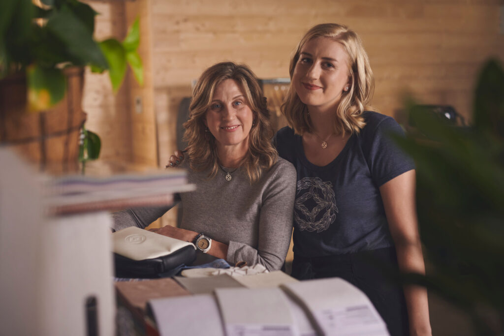Local company DIOSA designs is getting ready to release the Maya collection. Katie Thompson and her mother Kim Hickman co-own the company. James Piercey/Kicker