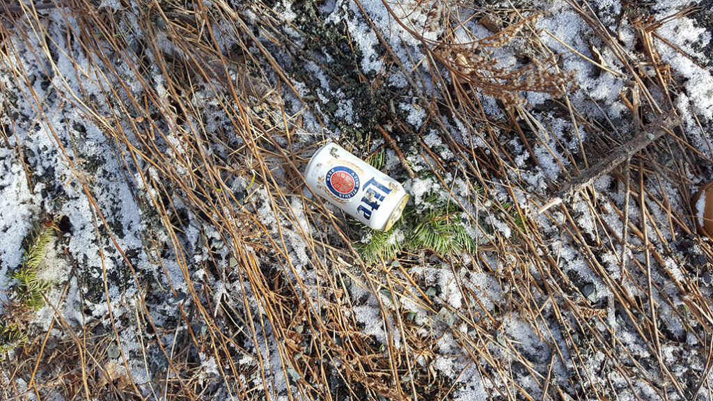 Beer cans are among the things that are being tossed on the side of the road. The MMSB found over 32,000 pieces of litter during their audit. Henrike Wilhelm/Kicker