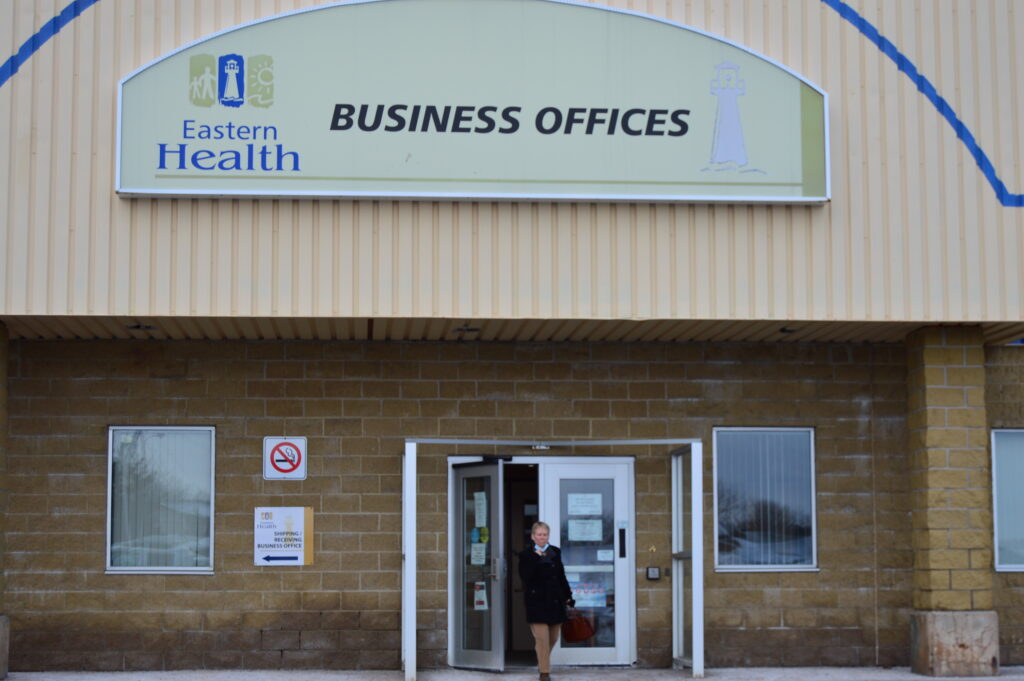 Business office of Eastern Health in Mount Pearl