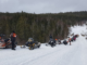 Snowmobile Conga Line