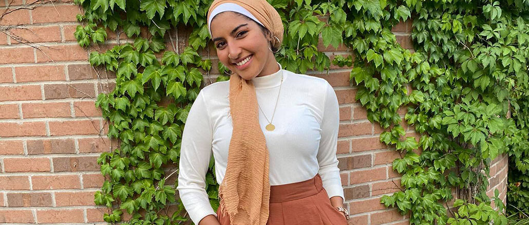 Enaya AbdElGaber studies political science at Memorial University. She says the pandemic made her miss her home, Egypt, even more. Submitted photo