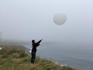 Weather balloon.