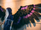 The cosplay community in town has many FaceBook pages promoting peoples work. This costume was made by Mad Maddox Cosplay, the wings are controlled electronically and is able to open and close. Mugford/Kicker.
