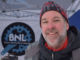 Don Boyles, Bicycles NL(BNL) treasurer, served warm drinks and refreshments at the fat bike demo. Boyles said that at one point it was so cold that some coffee froze.