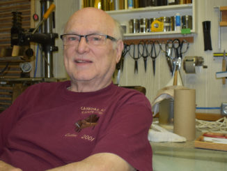 Brian Roberts began to call himself the book doctor when he started up a business binding books in Newfoundland. He learned the trade at a community college in Germany for about five years before setting up in St. John's sometimes later.