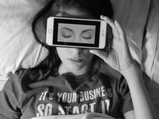 Putting away your screen even just an hour before you go to bed will make a difference in the quality of your sleep