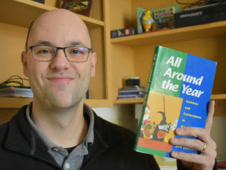 Dr. Daniel Peretti came to Newfoundland last year. He began working at Memorial University of Newfoundland and Labrador (MUN) as an assistant professor in the Folklore Department.