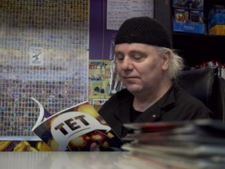 St. John's artist Wallace Ryan collaborated on a new comic book called Nobody is in Control.