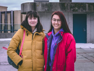 Chloe Puddester (left) and Allison Jeon (right) are two of the five Holy Heart students that are spearheading the climate strike here in St. John's. The event will take place Friday, March 15 at Memorial University.