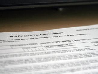 a Canadian tax form