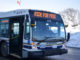 LED signs on St. John's Metrobus advertises free rides
