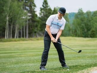Blake Fudge at Terra Nova Golf Course