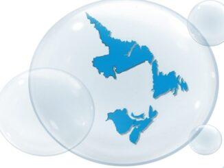 A visualization of the Atlantic bubble.