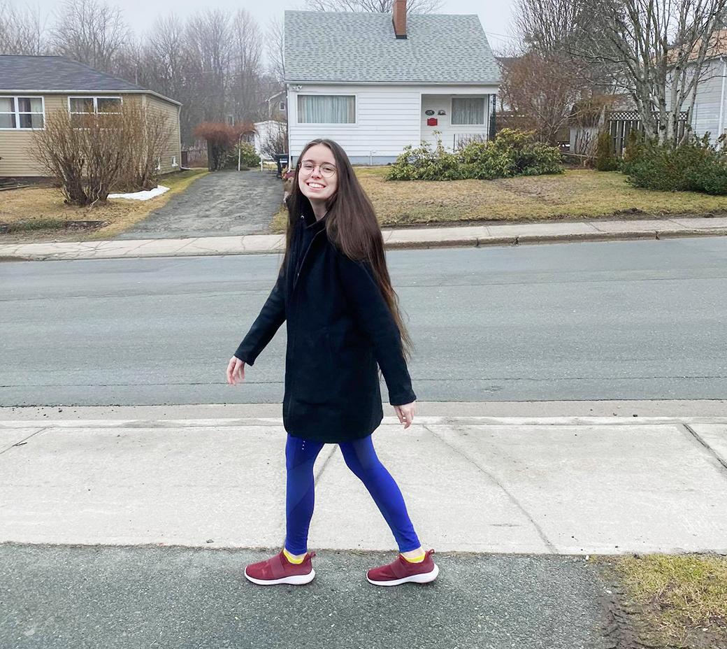 Amy Welsh Walking